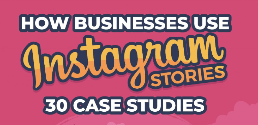 9 case studies where clever instagram marketing got huge results Instagram Stories Case Studies Infographic 99firms